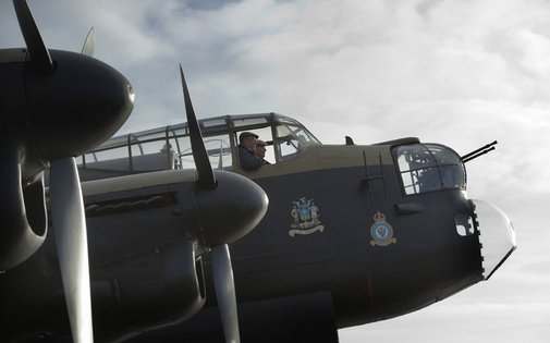 Lancaster bomber to fly as tribute to a lost brother - Telegraph