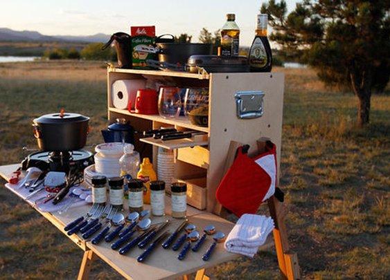 Outdoorsman Camp Kitchen — The Man's Man