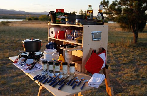 Outdoorsman Camp Kitchen — The Man's Man