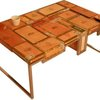 Habana Coffee Table Built From Used Cigar Boxes