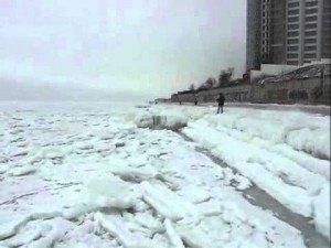 Sounds of the Frozen Sea. Odessa, Ukraine