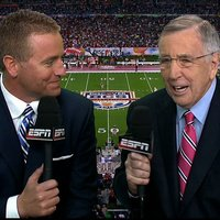 Brent Musburger Is A Bit Too Infatuated With A.J. McCarron's Girlfriend, Katherine Webb