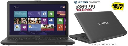 BestBuy Deal: $10 Off Toshiba Satellite C855D-S5110 Laptop!