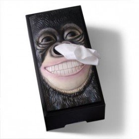 King Kong Tissue Box Cover | Cheaper Than A Shrink