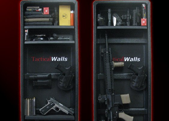 Tactical Wall Storage