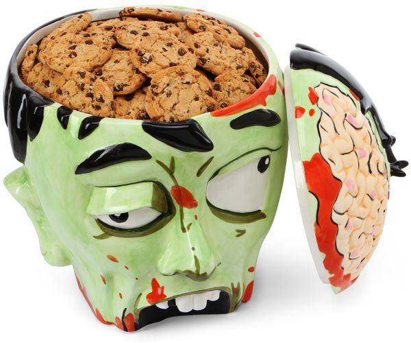 Zombie Head Cookie Jar | That Should Be Mine