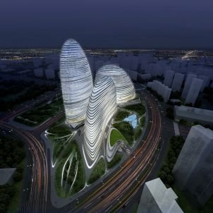 Pirated Copy of Design by Star Architect Hadid Being Built in China - SPIEGEL ONLINE