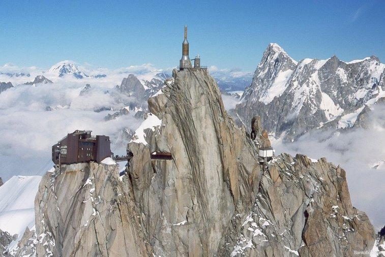 Alps Ski Resort in Chamonix, France