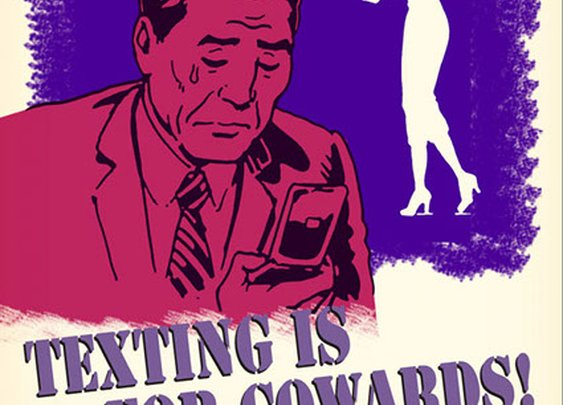 I Want You….To Put Away Your Smartphone: Propaganda Posters for the Modern Age | The Art of Manliness