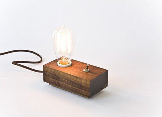 Andrew Berg Lamp — The Man's Man