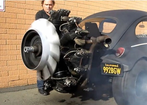 Tank engine + Volkswagen. What could go wrong?