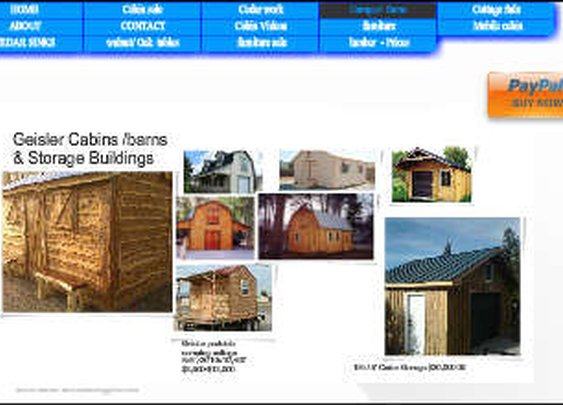 Wix.com geisler created by geislercabins based on Green Properties   Wix.com