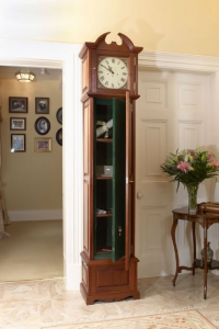 Grandfather Clock with Secret Gun Safe | StashVault