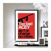 Home Alone Acey said 10% - Wall Print by BrixtonCreative on Etsy