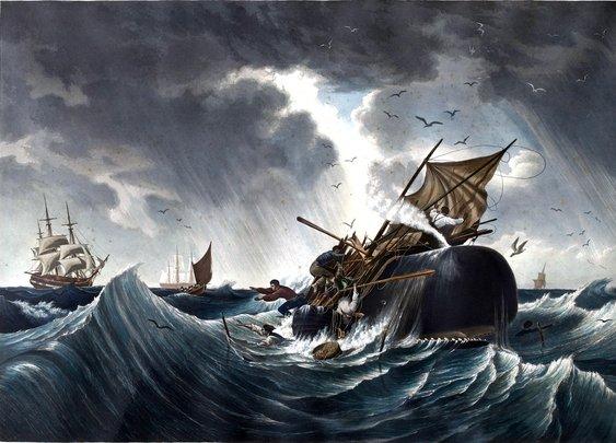 whaling art
