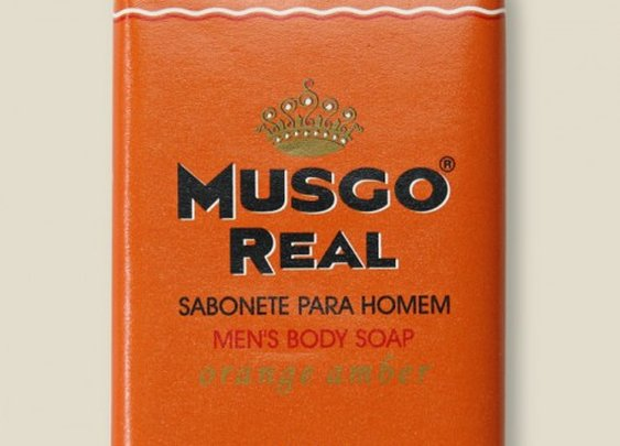 Musgo Real Soap - Orange Amber