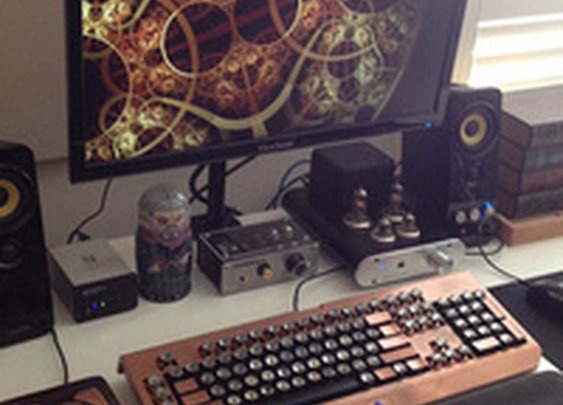 The Steampunk Workspace