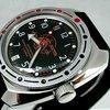 Russian VOSTOK Auto Amphibian Watch Rubber Strap 0380BF New | eBay
