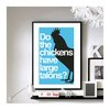 Napoleon Dynamite 'I don't understand a word you just said' A3 wall art by BrixtonCreative
