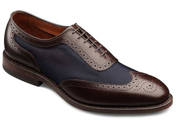Strawfut - Wingtip Lace-up Mens Dress Shoes by Allen Edmonds