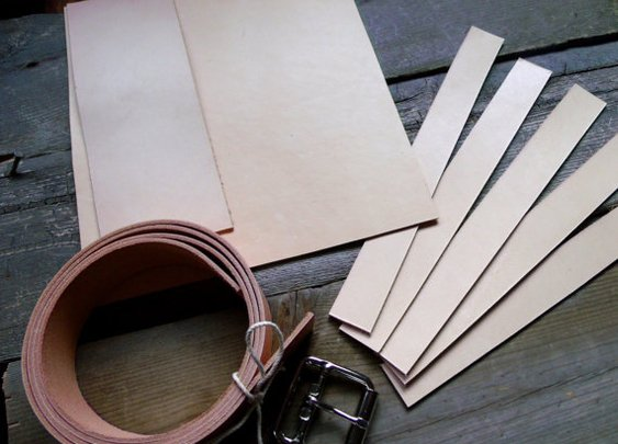 Make your own belts, wallets and holsters.