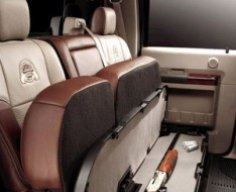 Cabela's Edition Ford with Hidden Gun Compartment | StashVault