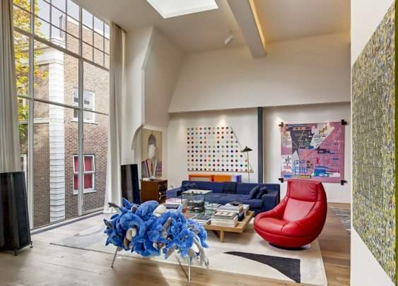 Guy Dellal's estate – An art and paintings collector