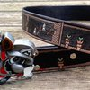 The entire final-level of Super Mario Bros... in leather....on a belt....