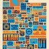 "Draplin Design Co. ""Your Utah"" Poster"