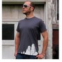 SALE Men's City tshirt hipster shirt by blackbirdandpeacock