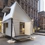 Flexi-legged Shelter can be built from disaster scrap