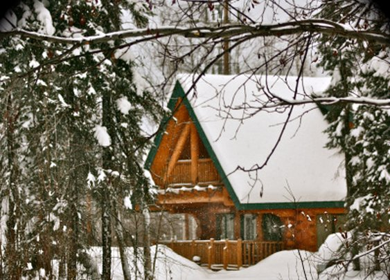 Log Home | 123 Fotogяaphy