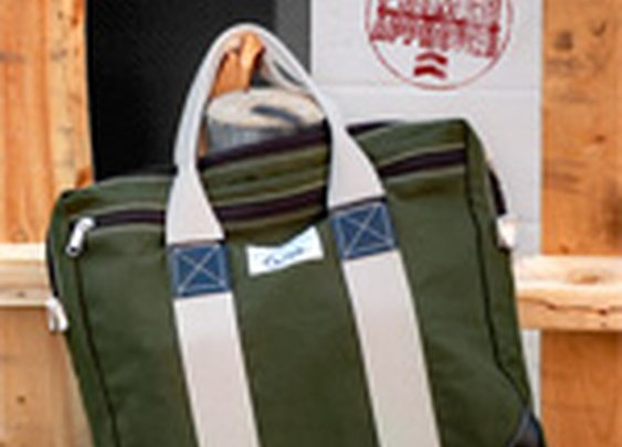 The $52 American-made, Canvas Briefcase by Beckel Canvas - Primer