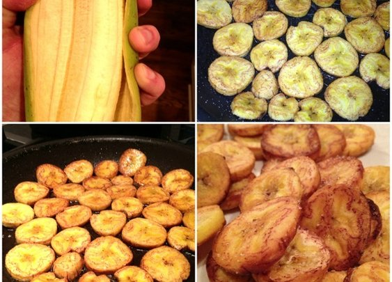 Recipe: Plantain Chips