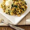 Arugula Quinoa Risotto with Ricotta and Walnuts - Cooking Quinoa