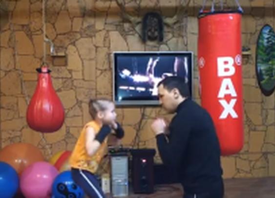 Little Girl's Incredible Boxing Skills