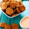 Quinoa Baked Zucchini Chips with Sriracha Dipping Sauce - Cooking Quinoa