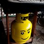 Propane tank Lego figure head - DIY
