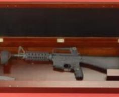 Secret Gun Storage Behind Picture Frame