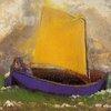 The Mysterious Boat :: Odilon Redon