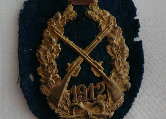 Here I stand: Military Patches from WWI