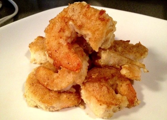 How to Make Healthy Popcorn Shrimp