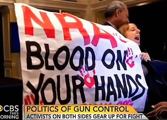 ABC, CBS, NBC Slant 8 to 1 for Obama's Gun Control Crusade   MRC