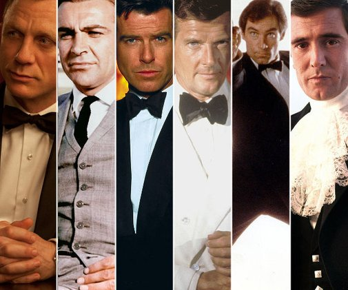 All Six Bonds Will Appear On Stage At The Oscars
