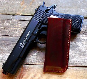 Colt 1911-Single Magazine Holster Handmade in The USA