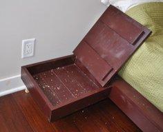 DIY Nightstands with Hidden Compartments   StashVault
