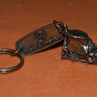 A special key chain...