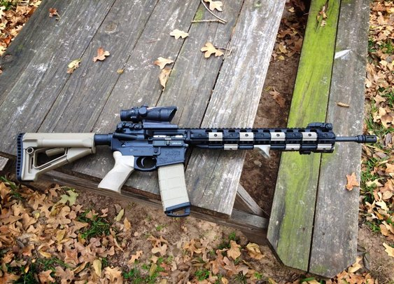 "LaRue PredatAR 5.56 18"" SPR (Special Purpose Rifle)"