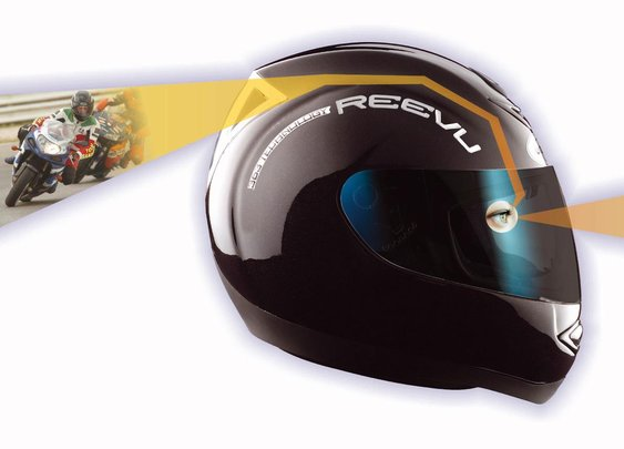Reevu MSX-1, the Rear-View Helmet