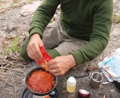 How to make your own dehydrated camp food